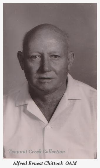 Alf Chittock Portrait B&W