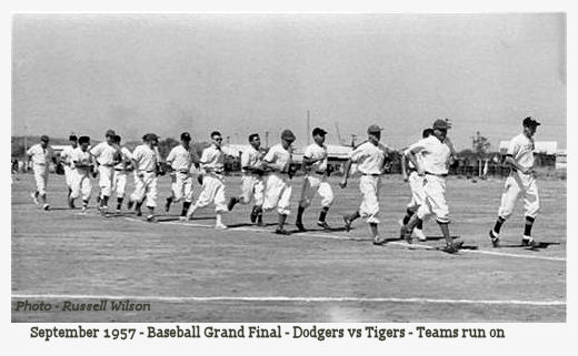 1957 Baseball 1