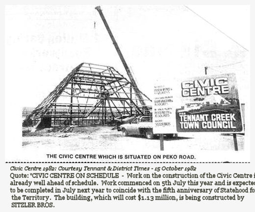 1982 Civic Centre clipping